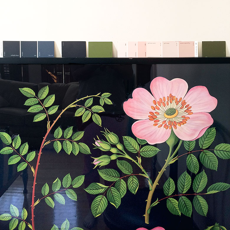 Botanical Print Color Palette | Making it Lovely