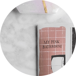 Julia Rothman's Pink Bathroom Zine