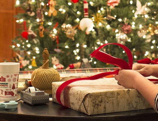 Late Night Christmas Wrapping