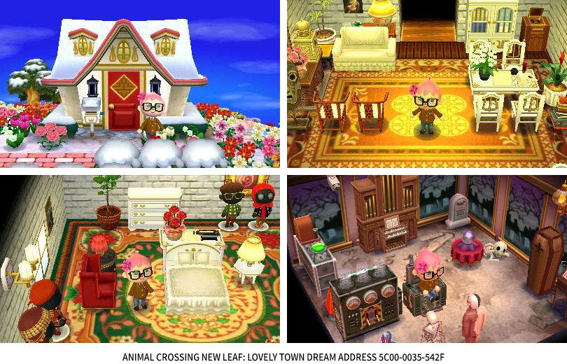 Animal Crossing New Leaf: Lovely Town Dream Address 5C00-0035-542F