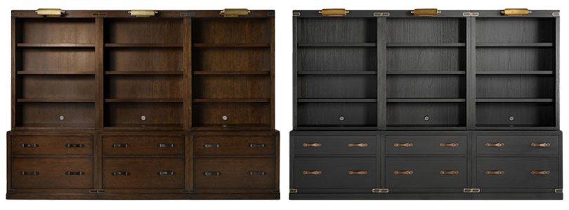 Arhaus Tremont Modular Bookcases