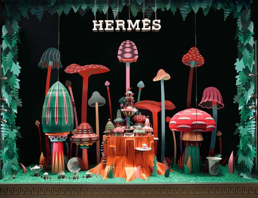 Zim & Zou Forest Folk Installation for Hermes