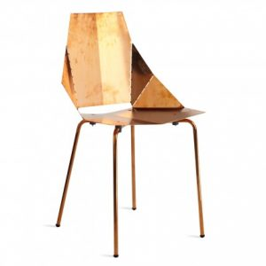 Copper Real Good Chair, Blu Dot