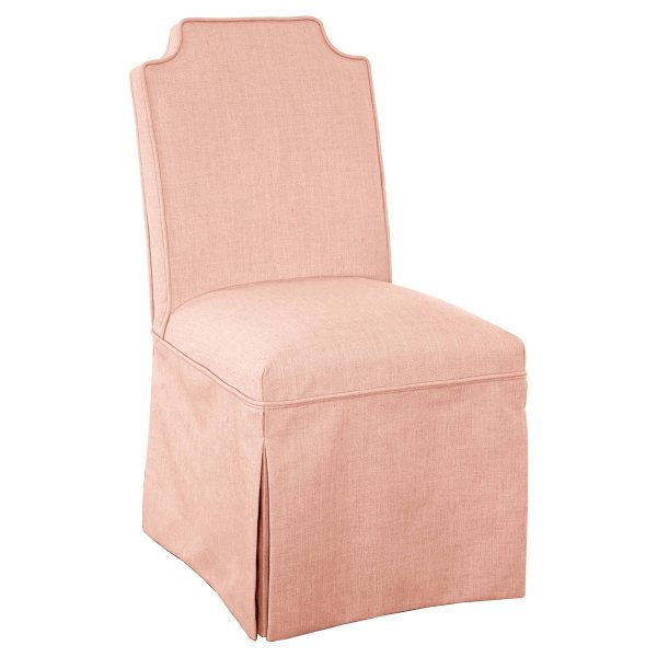 Nate Berkus Pink Skirted Slipper Chair, Target