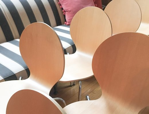 Bent-Ply Danish Dining Chairs