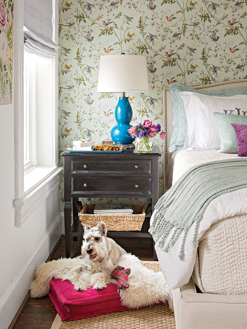 Kathryn Ivey's Bedroom in Better Homes & Gardens