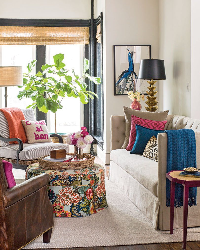 Kathryn Ivey's Living Room in Better Homes & Gardens