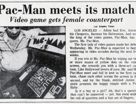 Pac-Man meets its match with Ms. Pac-Man
