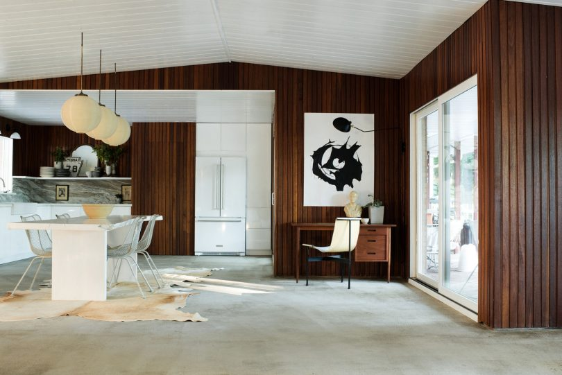 Leanne Ford's Modern Wood and White Home