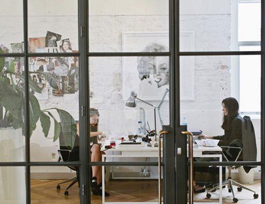 Working in the Naveya & Sloane Showroom