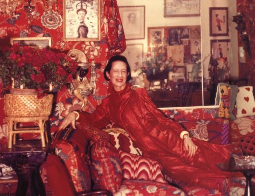 Diana Vreeland loved red.