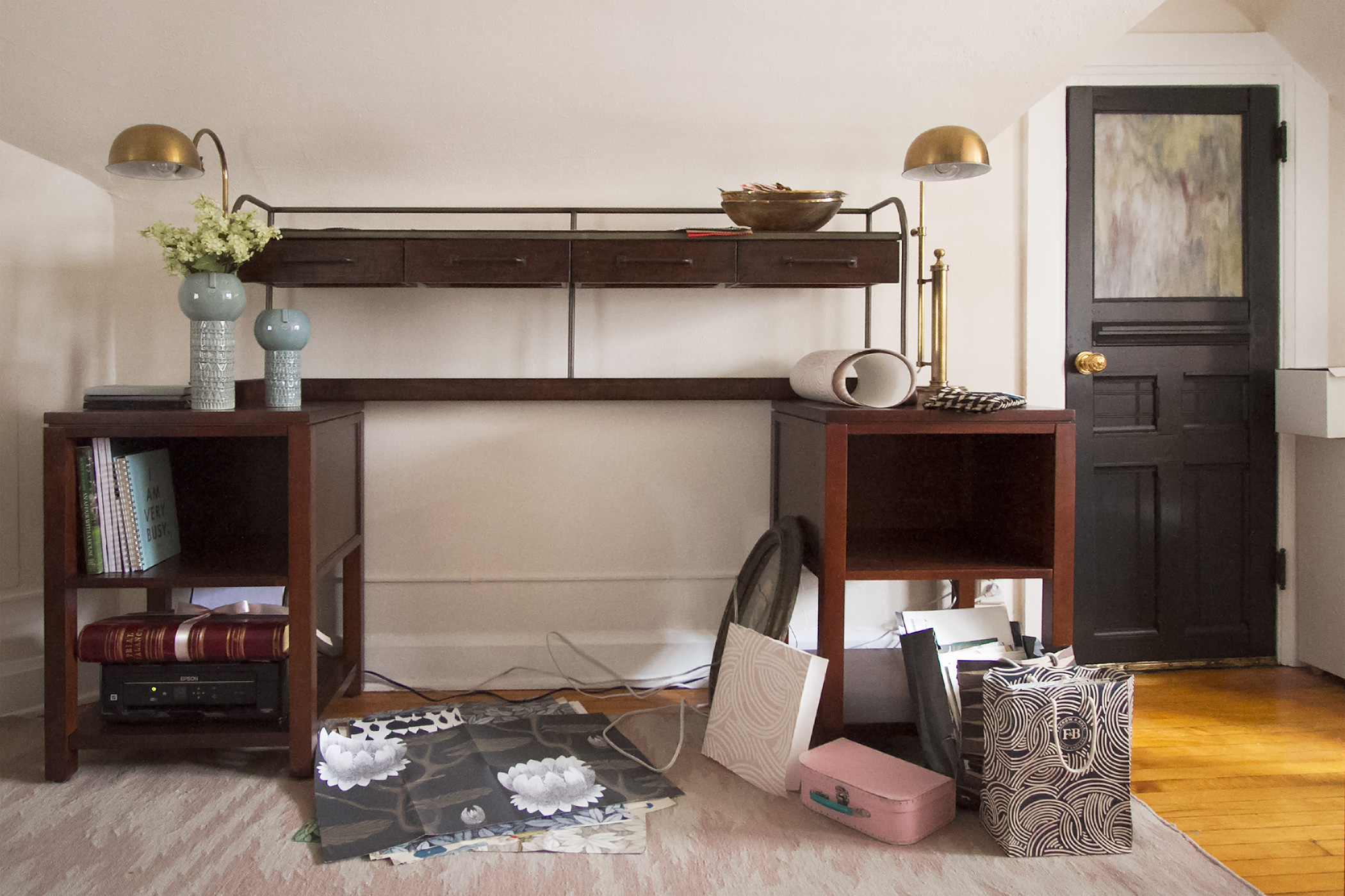 Update Modular Home Office Furniture Making It Lovely