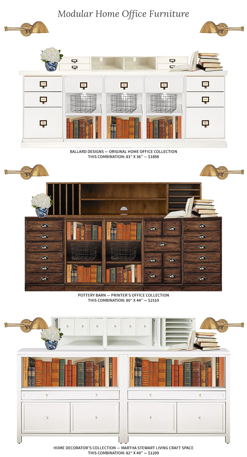 Modular Home Office Furniture   Making it Lovely