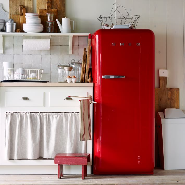retro refrigerators and mini fridges making it lovely. Black Bedroom Furniture Sets. Home Design Ideas