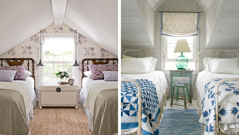Attic Bedrooms, Country Living