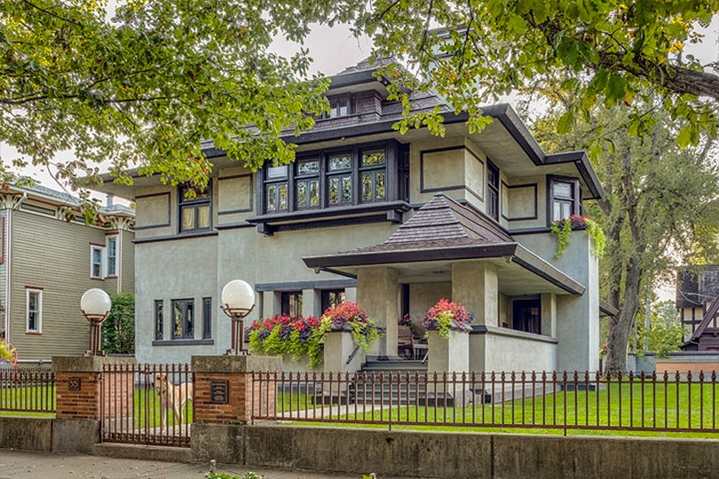 Hills-DeCaro House, Oak Park, IL
