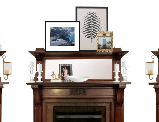 Modern Decorating Ideas for a Victorian Fireplace | Making it Lovely