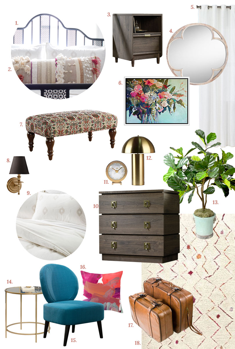 Guest Room: Get the Look | Making it Lovely