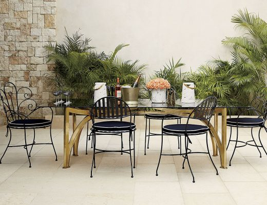 CB2 Outdoor Dining Furniture