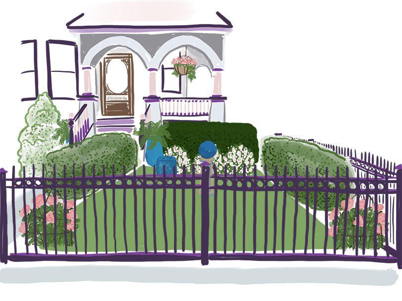 Front Garden Sketch