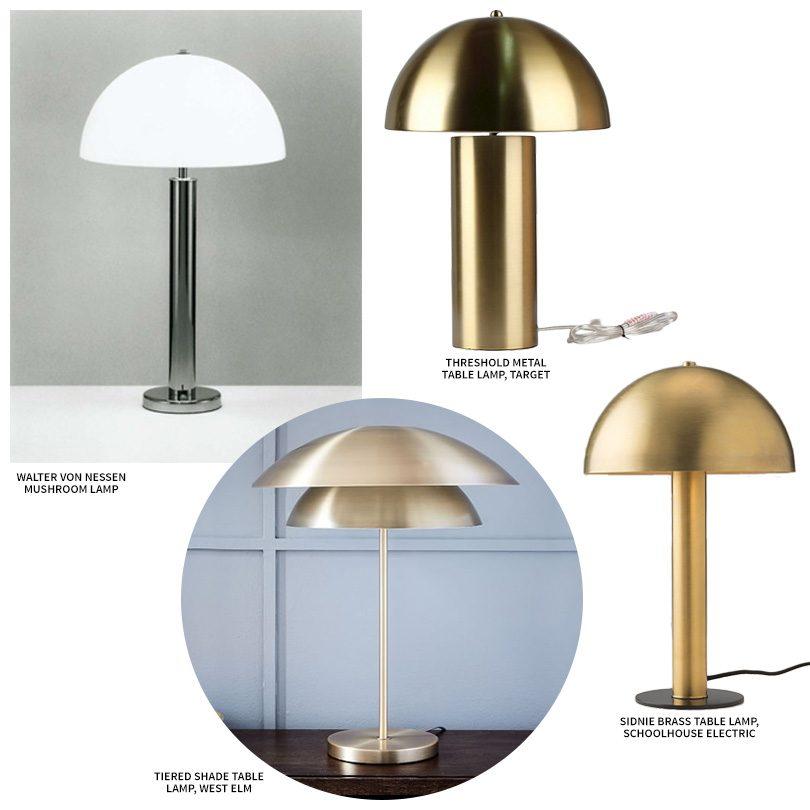 Walter Von Nessen And Inspired Mushroom Lamps Making It