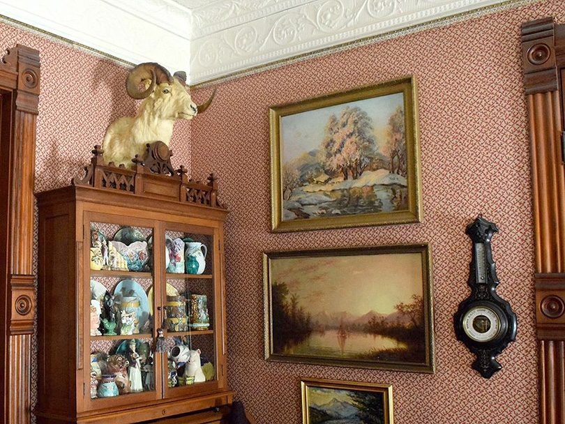 Inside the Perkins' Pink Victorian House