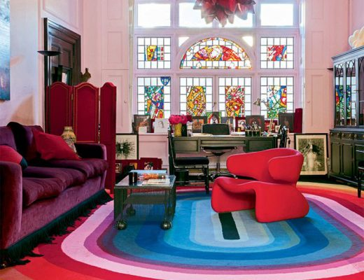 Colorful Home of Solange Azgury Partridge
