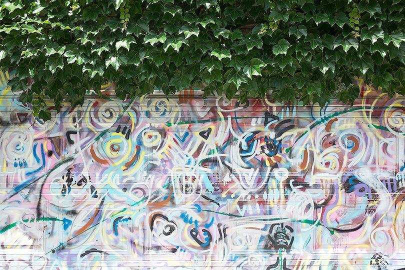 Art in Pullman Alleyways - Chicago Graffiti