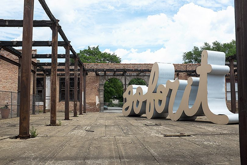 Go For It — Matthew Hoffman Sculpture in Pullman, Chicago