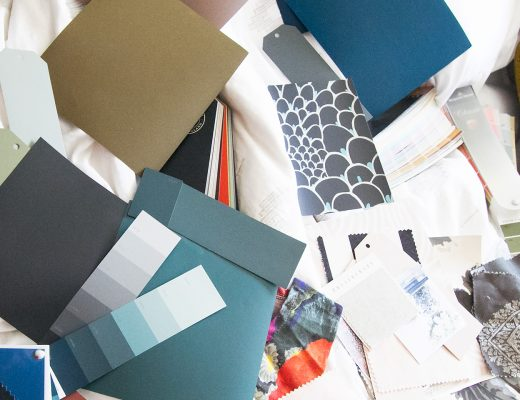Guest Room Color Samples