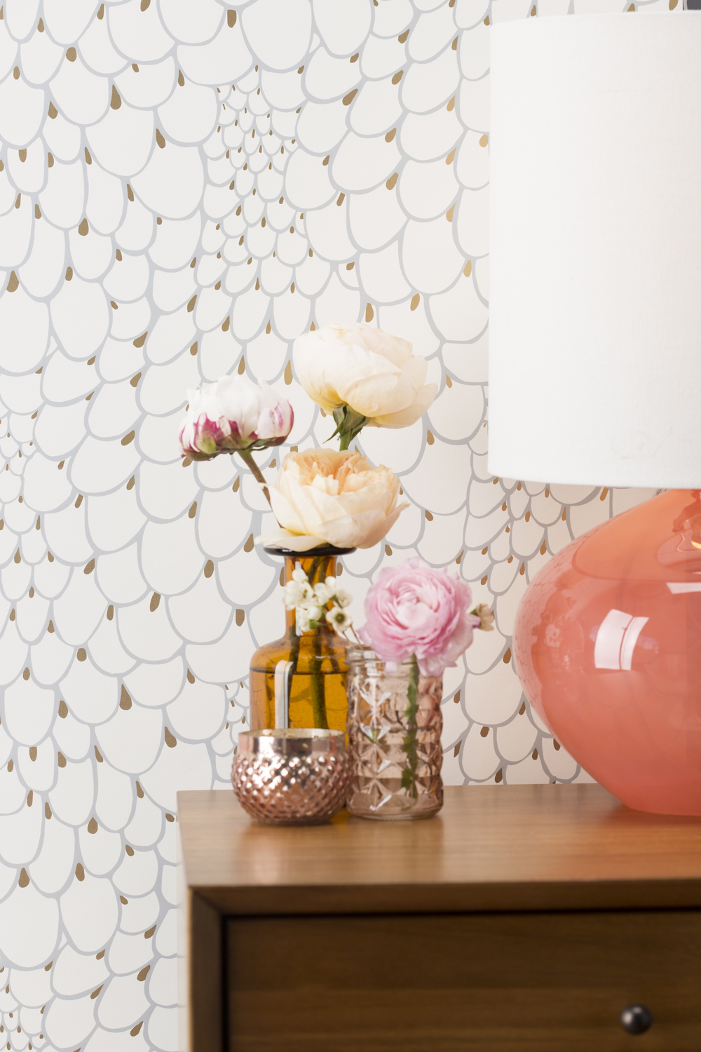 Lovely Small Scale Wallpapers - Making