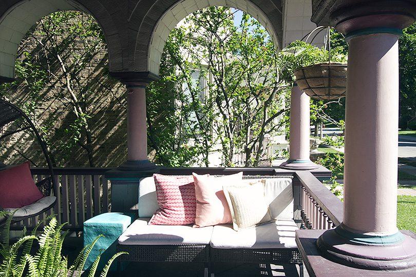 Front Porch, Queen Anne Victorian