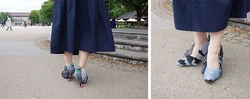 DIY Pigeon Shoes