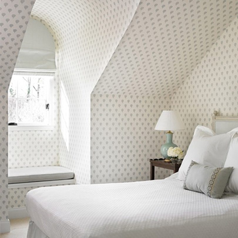 Attic Bedroom in Sister Paris Petite Skukusa Wallpaper