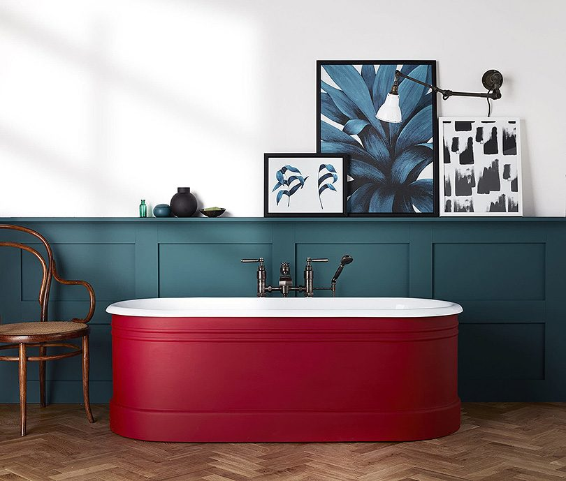 The Bute Cast Iron Tub by Drummonds