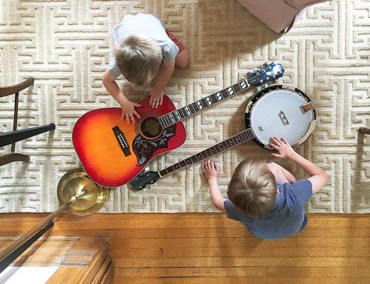Guitar and Banjo Noodling