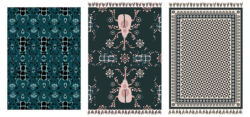 Making it Lovely's Rug Designs