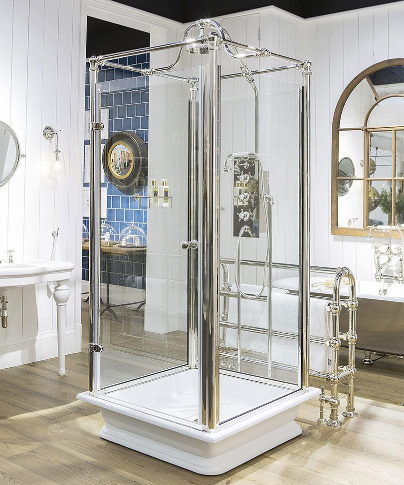The Test Freestanding Shower by Drummonds