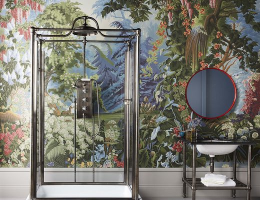 The Thurso Freestanding Shower by Drummonds