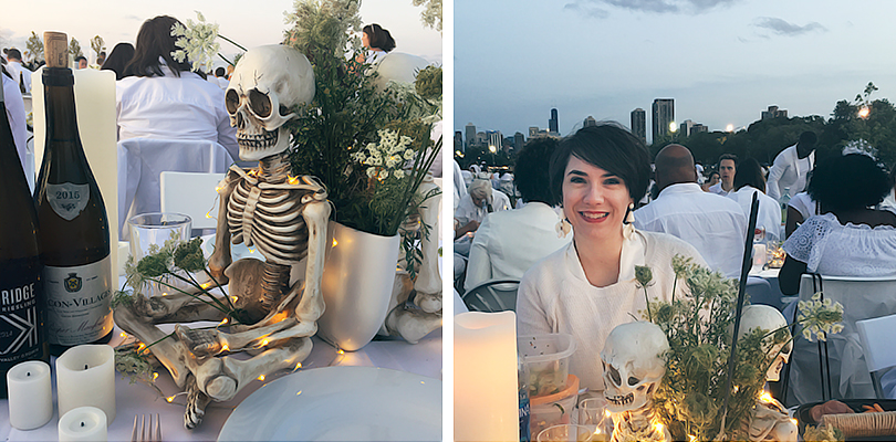 Diner en Blanc Table