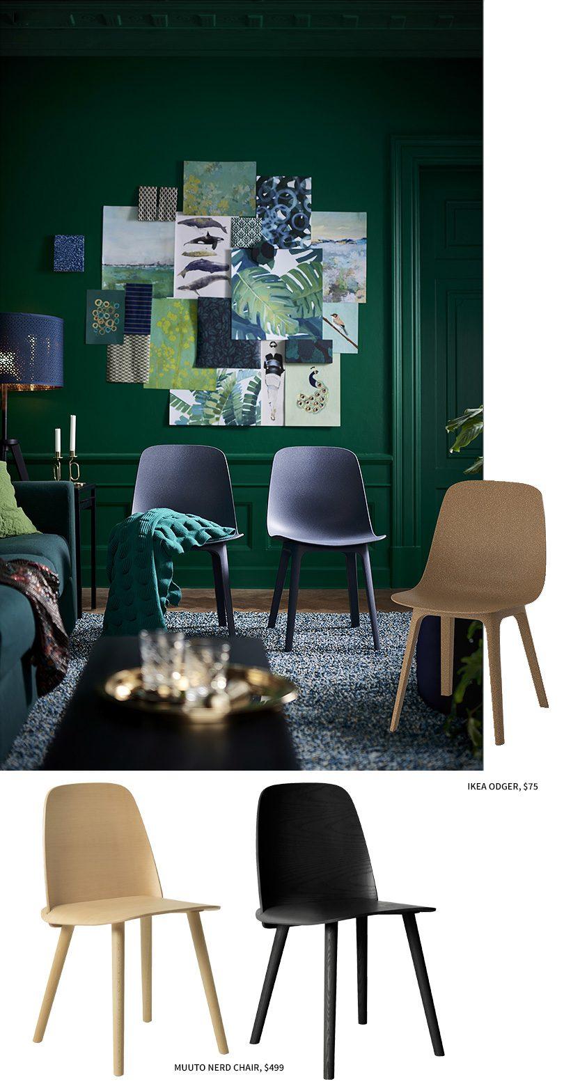 IKEA ODGER Chair vs. Muuto Nerd Chair