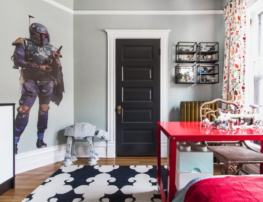 Boba Fett Stands Guard in a Kid's Room | Making it Lovely