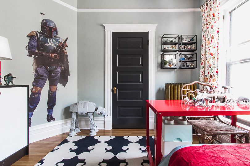 Boba Fett Stands Guard in a Kid's Room   Making it Lovely