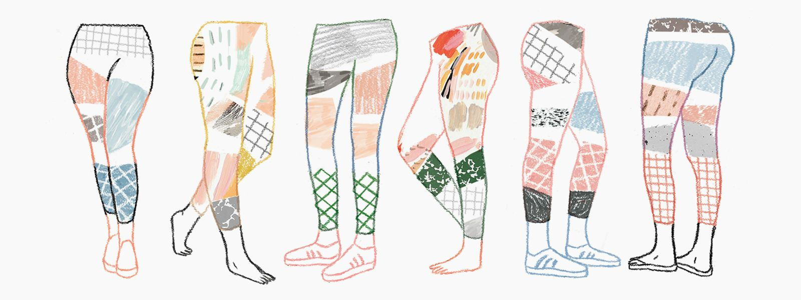 Lularoe Leggings - A Look Inside Modern Day MLM Companies (Illustration by Kobie Nieuwoudt)