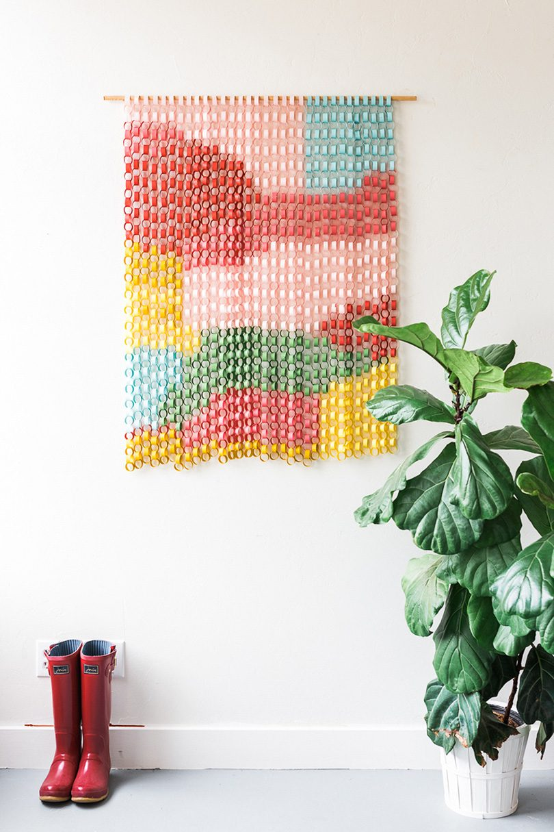 Paper Chain Wall Hanging — The House That Lars Built
