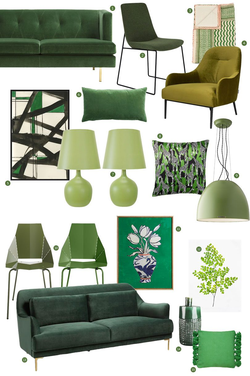 Green Home Decor | Making it Lovely