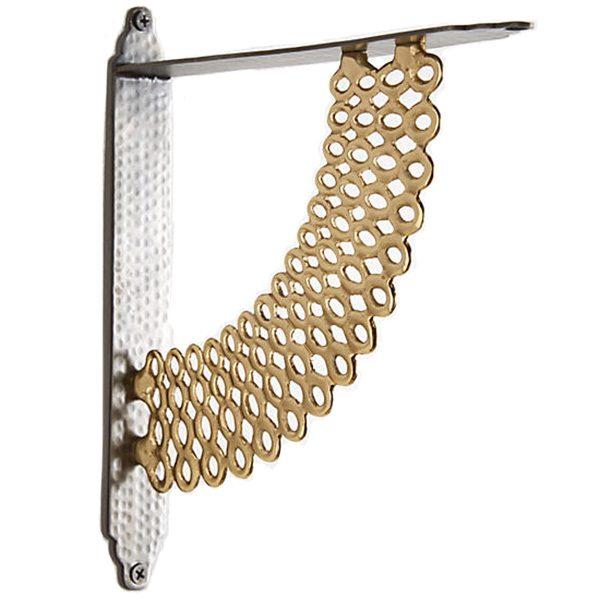 Gilded Loops Shelf Bracket, Anthropologie