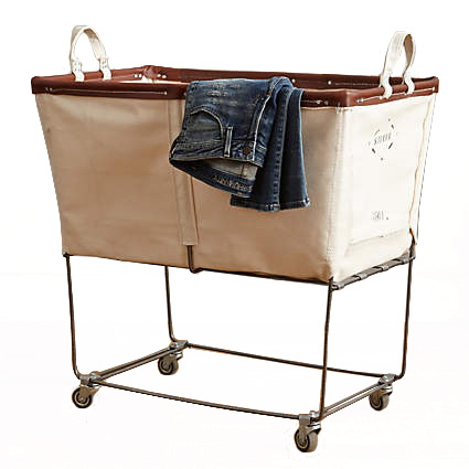 Steele Canvas Laundry Truck Cart