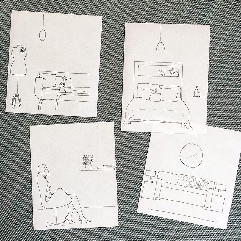 Apartment Sketches