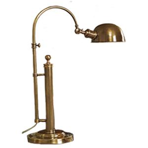 Barclay Arc Brass Table Lamp, Pottery Barn